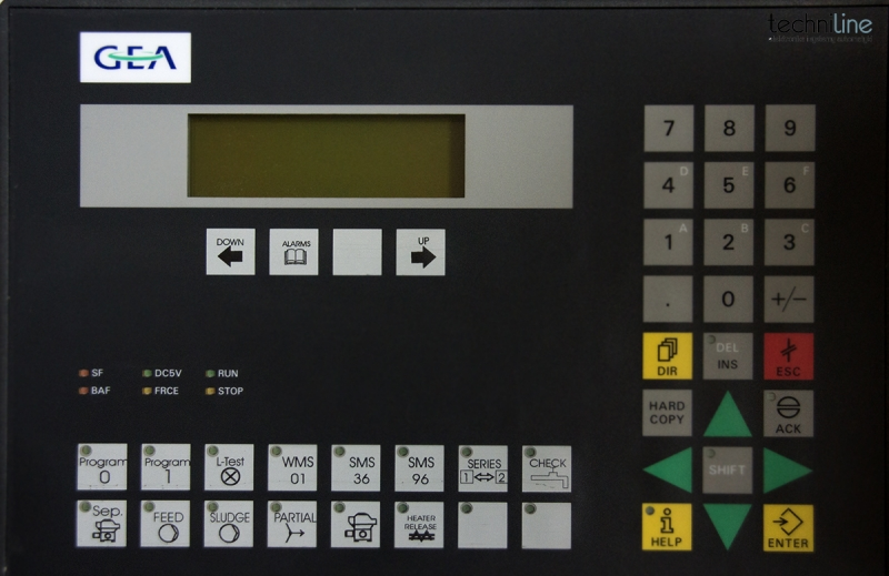 CONTROL UNIT FOR GEA (WESTFALIA SEPARATORS)